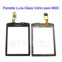 Pantalla Tactil Glass Luna Vidrio Para Blackberry 9800 Torch