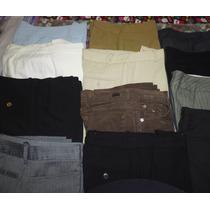 Pantalones De Vestir Dama Talla 30-32 Americanos De Marca