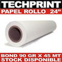 Rollo Papel Bond 24 X 150
