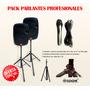 Parlantes Profesionales 15 Pasivos + Trípodes + Micrófono