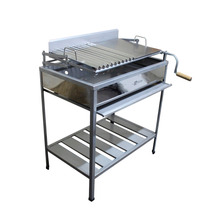 Parrilla Std Inoxidable Grande - Grillcorp
