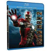Iron Man 2 Blu Ray 2 Disc Hulk Thor Capitan America Amazing