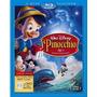 Blu Ray Pinocho 70 Aniversario + Dvd (3 Discos) Slip Cover