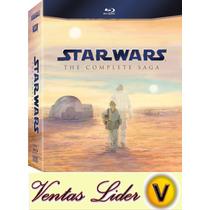 Star Wars The Complete Saga Blu-ray