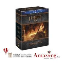 El Hobbit Trilogia Extendida 3d + Blu Ray Movies Amazing