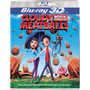 Blu Ray Lluvia De Hamburguesas 3d - 2d Stock- Sellado- Nuevo