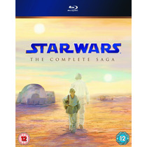 Star Wars - The Complete Saga Bluray- Version Uk