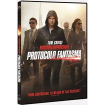 Dvd Mision Imposible Protocolo Fantasma