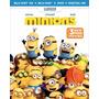 Minions / Bluray 3d + Bluray + Dvd !!