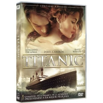 Dvd Original Titanic Kate Winslet Leonardo Dicaprio Cameron
