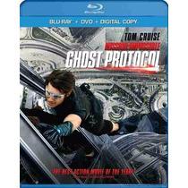 Blu Ray Mision Imposible Protocolo Fantasma + Dvd Slip Cover