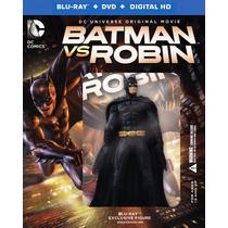 Blu Ray Batman Vs Robin - Edición Limitada - Stock - Nuevo
