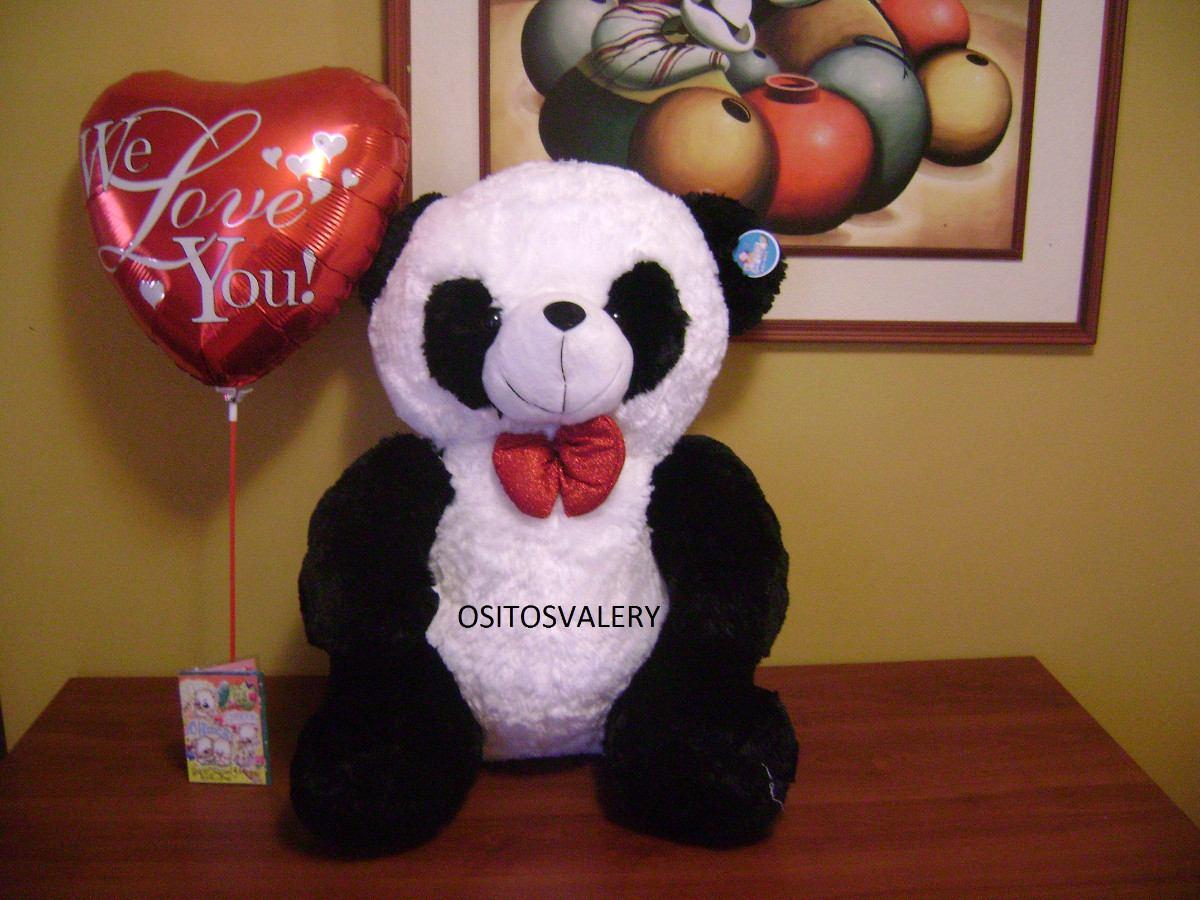 peluche oso panda musical globo envio gratis a domicilio s 195 00 en mercadolibre. Black Bedroom Furniture Sets. Home Design Ideas