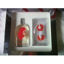 Benetton Rosso 100 Ml - Perfume Para Mujer + Audífonos