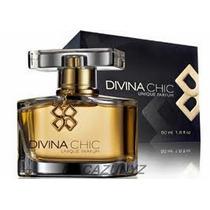 Eau De Perfum Divina Chic 50ml De Unique + Bolsa + Probador
