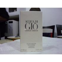 Perfume Hombre Acqua Di Gio Por Giorgio Armani En 100ml