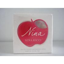 Perfumes Importados Mujer Manzanita D Nina Ricci Tamaño 80ml