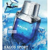 Kalos Sport 100ml Hombre Esika Nuevo Sellado Garantía Total