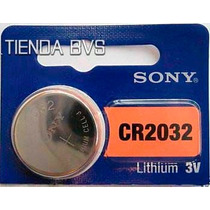 10 Pilas Boton Sony Cr2032 Cr2025 Litio 3v Blister Original