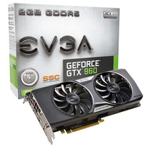 Tarjeta De Video Evga Geforce Gtx 960, 2gb Gddr5 128-bit, Dv