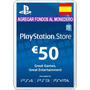 Playstation Network Card 50 Euros Ps3 Ps4 Psn Card España