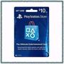 De Mrcargas Play Station Network Card $10 Psn Store (oferta)