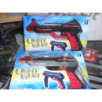 Pistola Shooting Con Luces Para Juegos Move