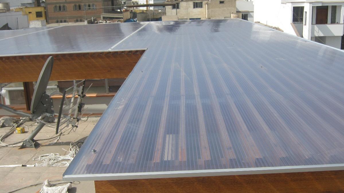 Policarbonato techo corredizos curvos sol y sombra for Modelos de gibson para techos