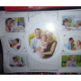 Porta Retrato- Familia -7 Fotos ,blanco- 56 L X,38 .nuevo