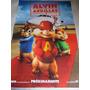 Poster Original De La Pelicula Alvin Y Las Ardillas 2