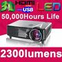 Proyector Multimedia Led 2300 Lumens / Hdmi Parlantes Usb