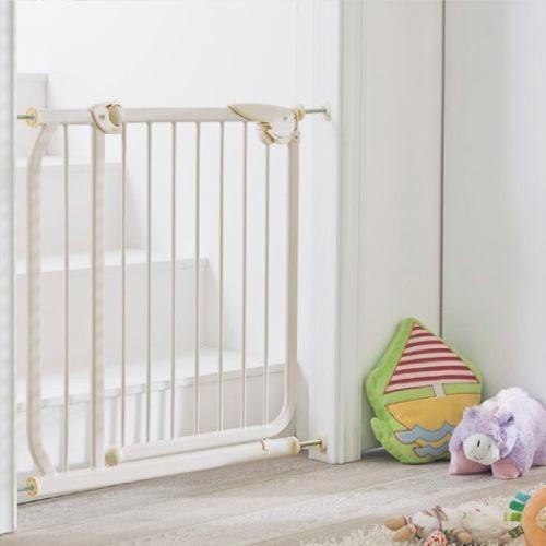 Puerta reja de proteccion para seguridad de bebe ni o - Puertas de escaleras para ninos ...