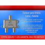 Diplexer - Con Un Solo Cable Mezcla Señal Tv Con Señal Satel