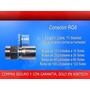 Conector Rg6 / Para Cable Coaxial, Instalación Tv-cable Y Tv