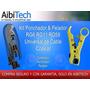 Kit Pelador&ponchador Cable Coaxial Rg11 Rg6 Rg59