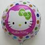 Lindos Globos De Helio Para Tu Fiesta De Hello Kitty X 5 Pie