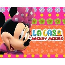 Kit Imprimible Minnie Rosa Coqueta De Mickey Mouse