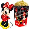 Kit Imprimible Minnie Roja, Para Cumpleaños, Tarjetas Y Más