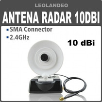 Antena Wifi Radar Direccional 10dbi Importada Internet