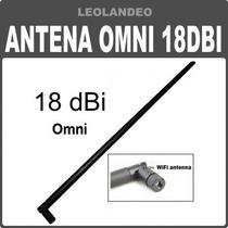 Antena Wifi Omnidireccional 18dbi Importada Internet