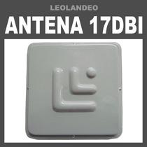 Antena Panel 17dbi Hecha Con Matriz Internet Gratis Asesoria
