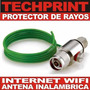 Pararayos Antena Vende Internet Wifi Electrico Rayos Lluvia