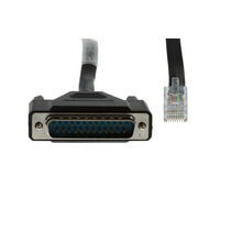 Cisco Db25 To Rj45 Modem/console Cable, 72-3663-01 Nuevos