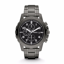 Reloj Fossil Dean Stainless Steel Fs4721 Para Hombre