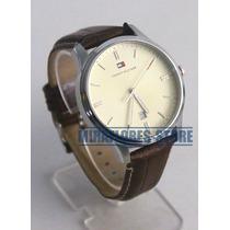 Reloj Tommy Hilfiger 1710282 Beige Elegante Para Caballero