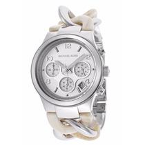 Reloj Michael Kors Mk4263 Twist Cronógrafo Runway Nuevo Caja