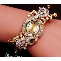Reloj Pulsera Mujer Acero Inoxidble Vintage Flores Prendas