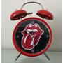 Reloj Despertador Estilo Vintage Rolling Stones Alarma