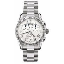 Reloj Victorinox Swiss Army 241315 Fondo Blanco Cronó Nuevo
