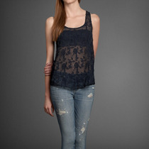Blusa Top Abercrombie & Fitch Tallas S Y M No Victoria